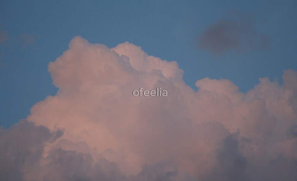 fluffy pink clouds by ofeelia