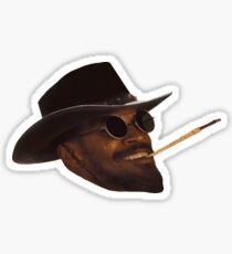 Django Unchained - Head Sticker
