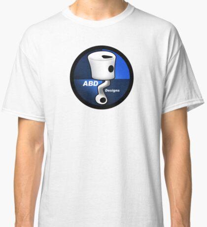 ABD vintage race bike logo - Blue Classic T-Shirt