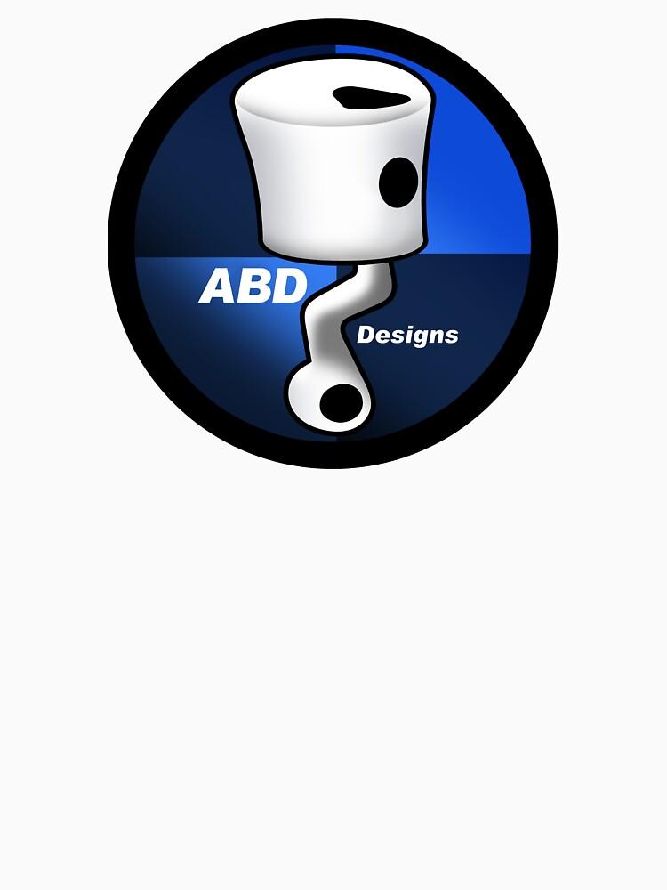 ABD vintage race bike logo - Blue by yj8dsk57