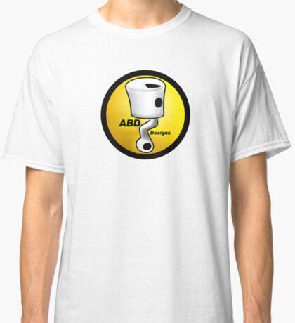 ABD vintage race bike logo - Yellow Classic T-Shirt