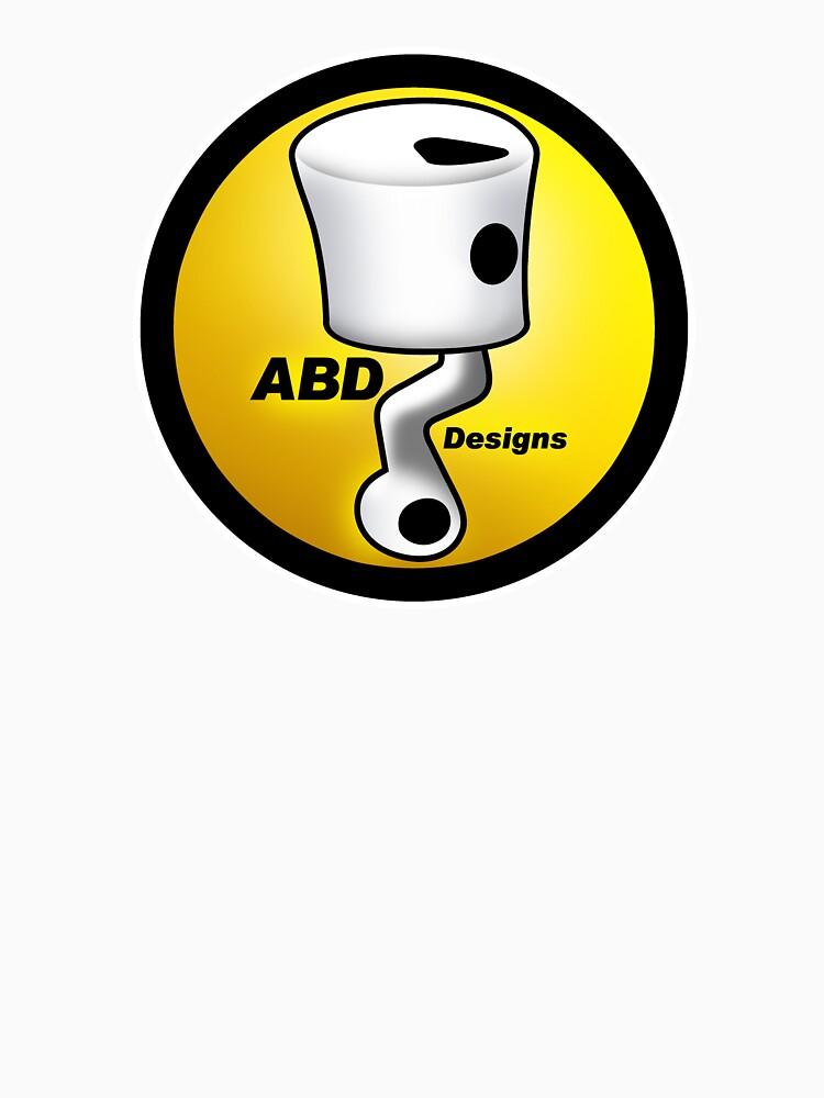 ABD vintage race bike logo - Yellow by yj8dsk57