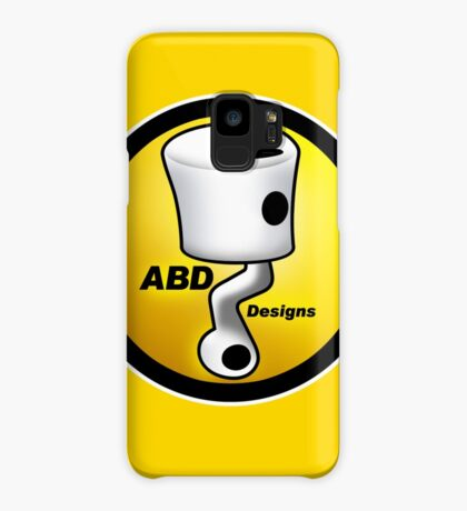 ABD vintage race bike logo - Yellow Case/Skin for Samsung Galaxy