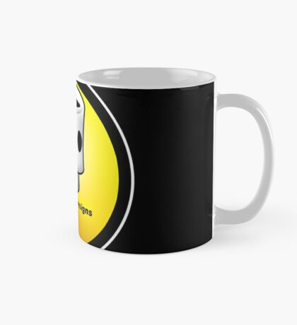 ABD vintage race bike logo - Yellow Mug