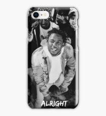 Kendrick Lamar - Alright (Music Video) iPhone Case/Skin