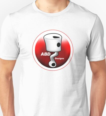 ABD vintage race bike logo - Red T-Shirt