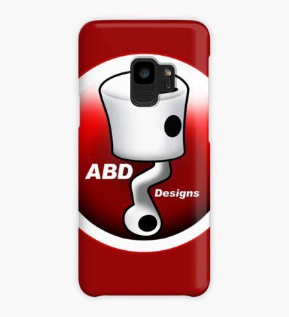 ABD vintage race bike logo - Red Case/Skin for Samsung Galaxy