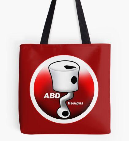 ABD vintage race bike logo - Red Tote Bag