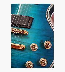 Guitar Blues   Photographic Print