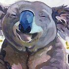 Happy Koala by Lauren E Tarrant