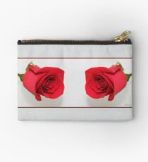 Let Me Call You Sweetheart ~ A Rose Zipper Pouch