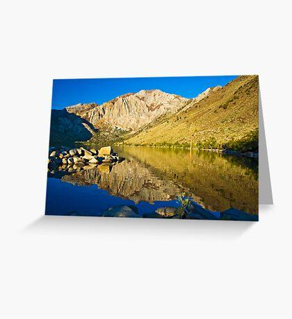 Morning at Convict Lake Greeting Card