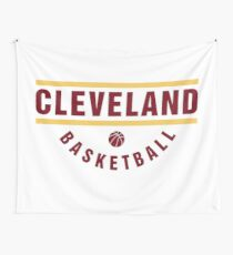 New Cleveland Basketball Jersey 2018 Wall Tapestry