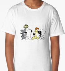 the beagles dog Long T-Shirt