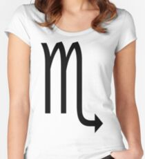 Scorpio Women's Fitted Scoop T-Shirt