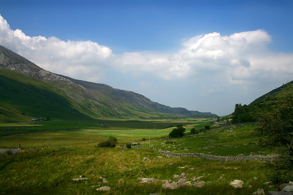 The wide open space of North Wales by Bev Evans