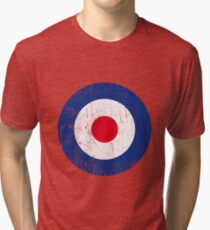 Cocarde RAF UK Tri-blend T-Shirt