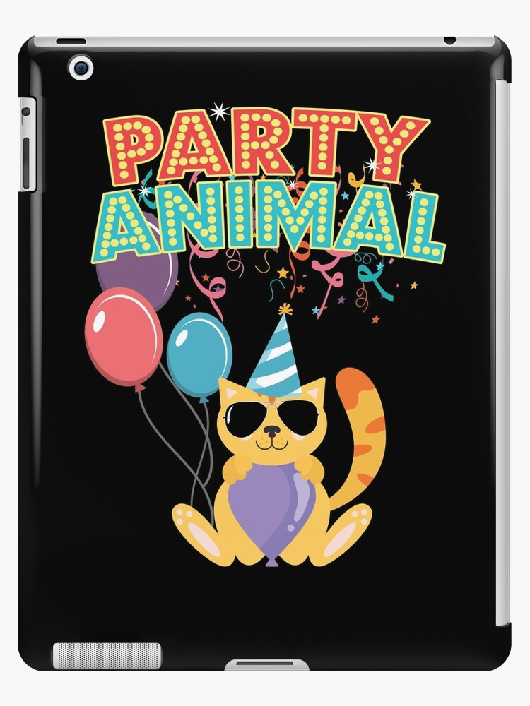 Party Animal Birthday Cat Aviator Sunglasses by BUBLTEES