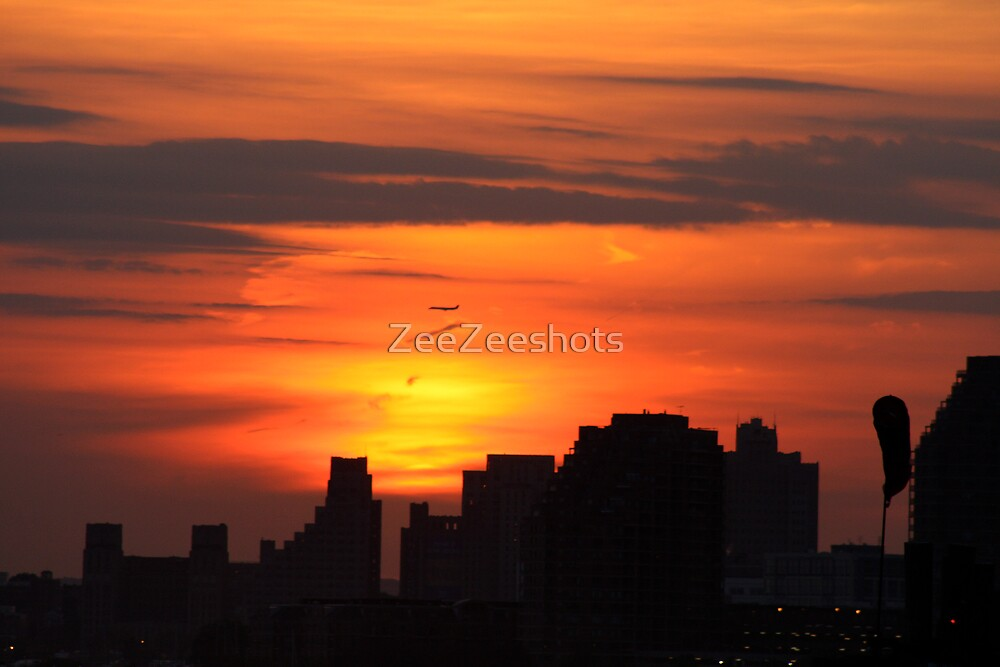 New York City Sunset #2 by ZeeZeeshots