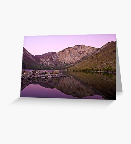 Before Dawn, Convict Lake Greeting Card