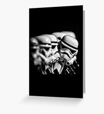 Stormtrooper distracted Greeting Card