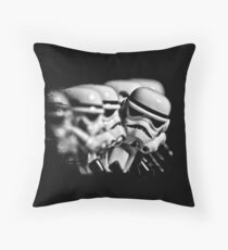 Stormtrooper distracted Throw Pillow