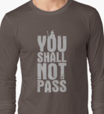 You Shall Not Pass - light grey T-Shirt