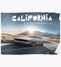 California collage Poster