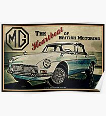 MGB Heartbeat Poster