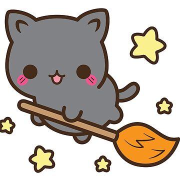 Cute little kitty witch by sinamorata