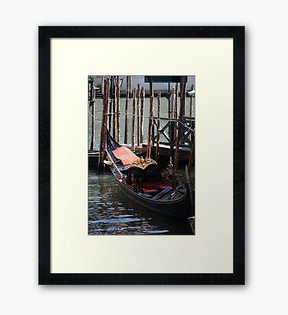 Gondola - Venice Framed Print