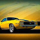 Yellow 1969 Camaro SS by Stuart Row