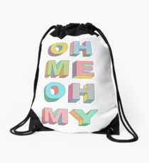 Oh Me Drawstring Bag