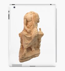 The Statue of The Unidentified Philosopher iPad Case/Skin