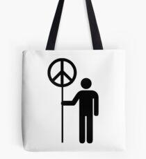 MAN OF PEACE Tote Bag