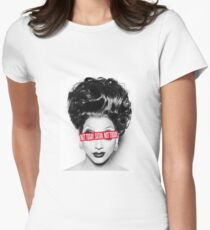 Not Today Satan! Bianca Del Rio Women's Fitted T-Shirt