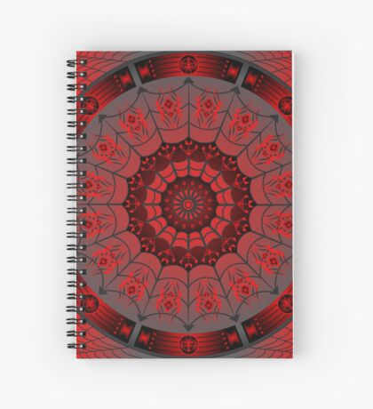 Spider Design (Iktomi) Spiral Notebook