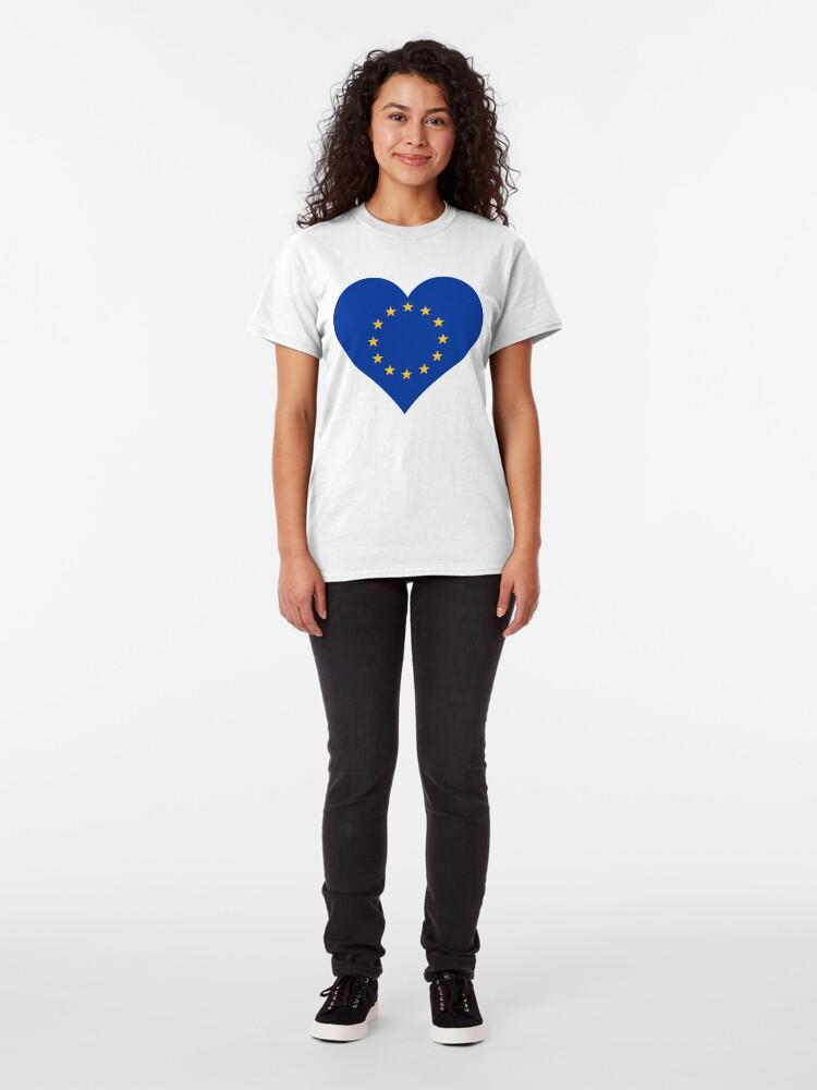 Alternate view of Europe Classic T-Shirt