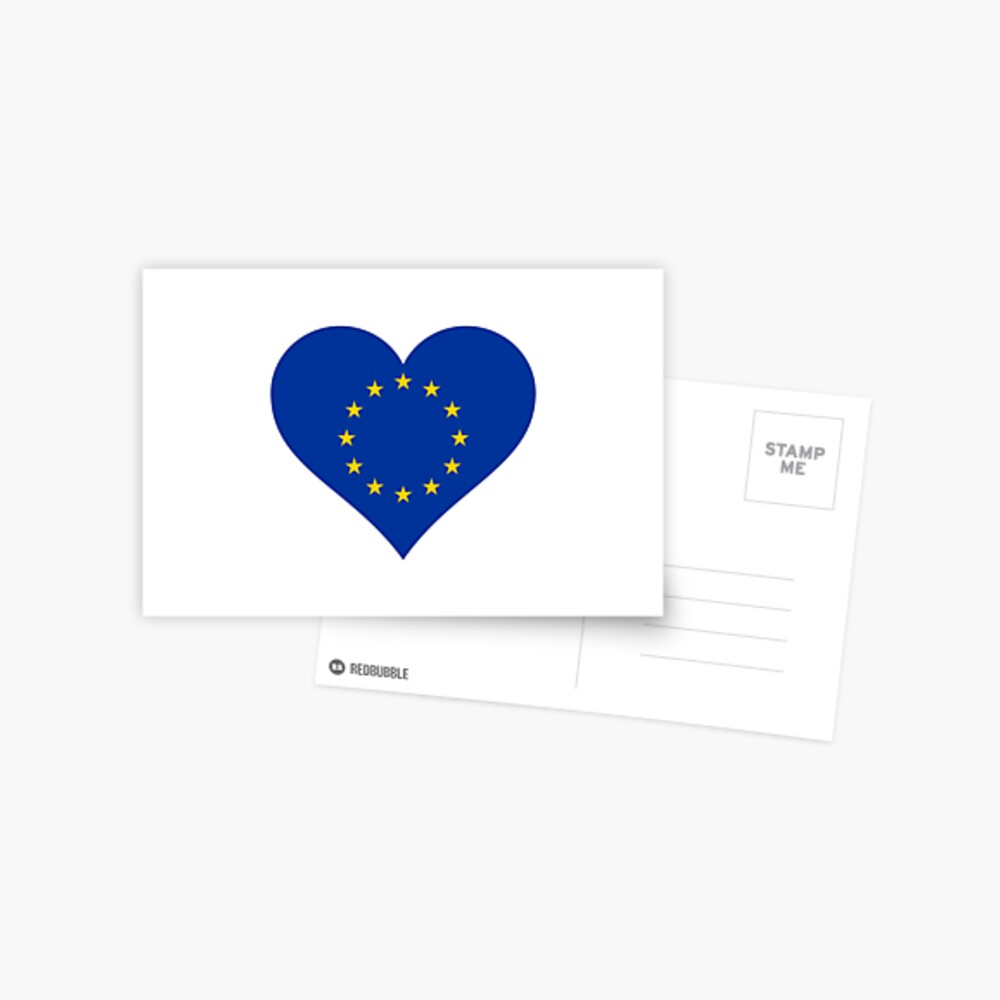 Europe Postcard