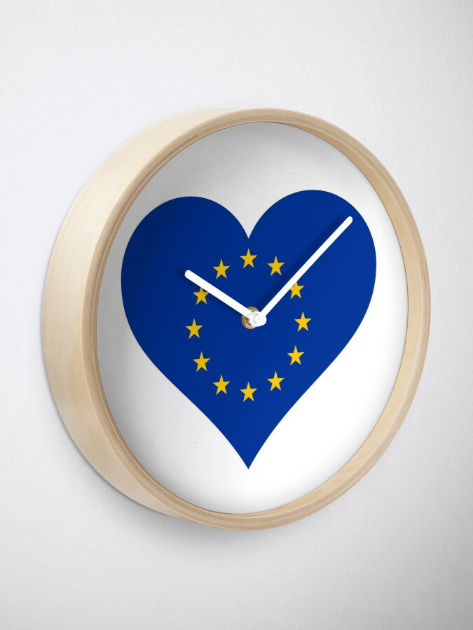Alternate view of Europe Clock
