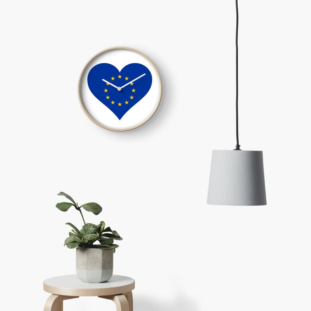Europe Clock
