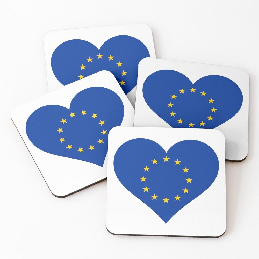 Europe Coasters (Set of 4)