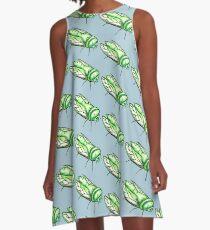 Green grocer A-Line Dress