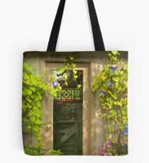 Blossom Garden's Poet's House  Tote Bag