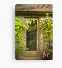 Blossom Garden's Poet's House  Canvas Print
