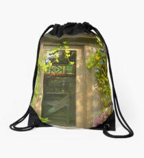 Blossom Garden's Poet's House  Drawstring Bag