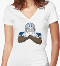 """VICTRS """"Be A Factor"""" Women's Fitted V-Neck T-Shirt"""