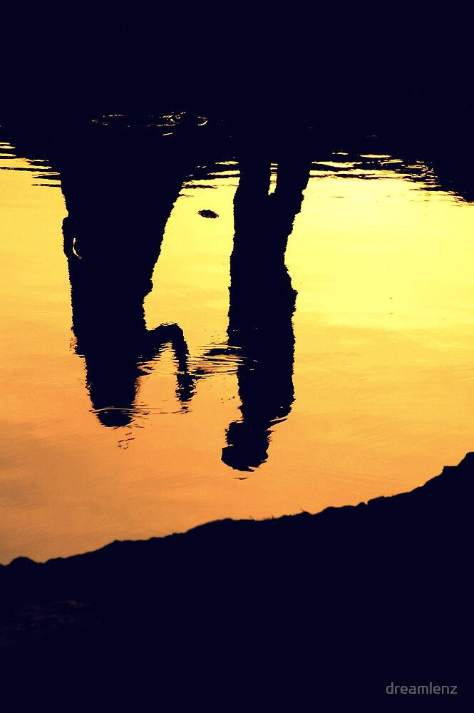 Lovers refection.  by dreamlenz