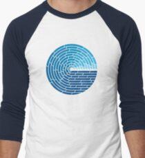 Allmächtiger Ozean Baseballshirt mit 3/4-Arm