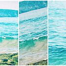 Tangy Turquoise Summer Sea Multi Photo by Sue Wellington